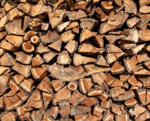 Original Kachelofen - Richtig hiezen mit Holz